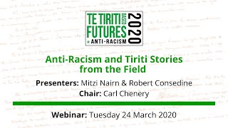 Anti racism and Tiriti stories from the field webinar