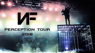 NF performing live at Perception Tour 2018