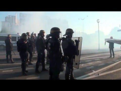 Paris (France) 01-05-2016  Riots in Paris