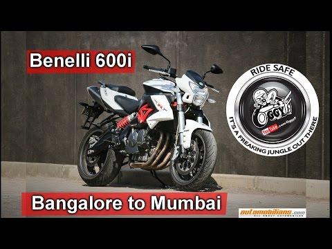 Bangalore to Mumbai | 1000kms on a Benelli TNT 600i | India bike week