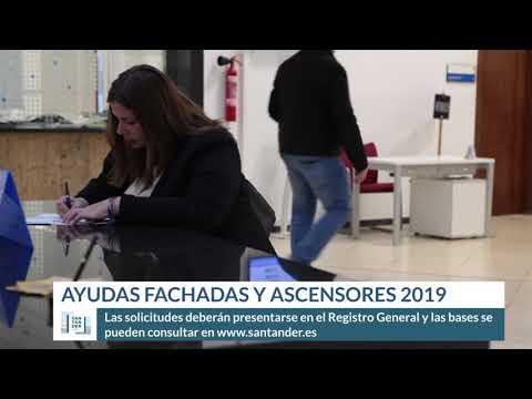 Ayudas fachadas y ascensores 2019