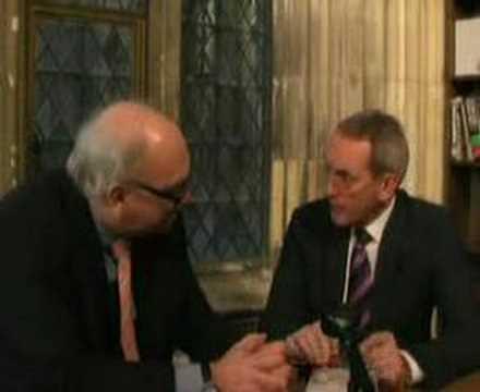 Derek Wyatt webcast with John Hutton on pensions