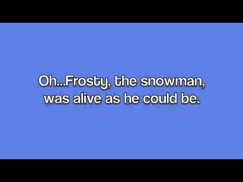 Frosty the Snowman (with Lyrics)-Ella Fitzgerald