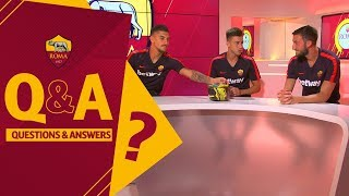vuclip Q&A: Lo. Pellegrini, El Shaarawy and Cristante interview each other!