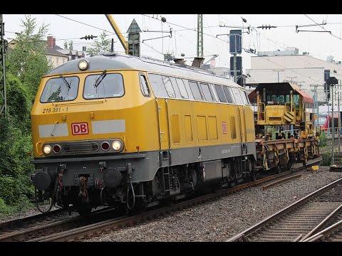Treinen op Station Bonn Hbf