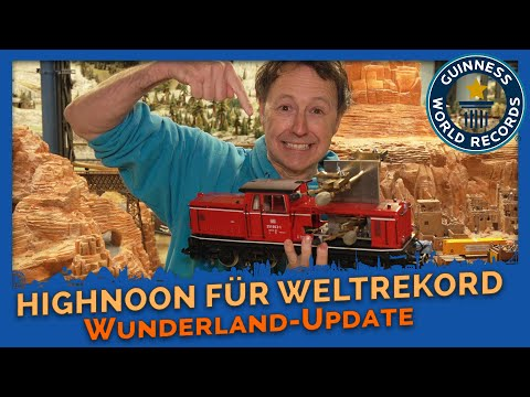 Lockdown in Wunderland # 10 - HIGH NOON - The final preparations for the CRAZIEST WORLD RECORDS # 2 - Miniatur Wunderland