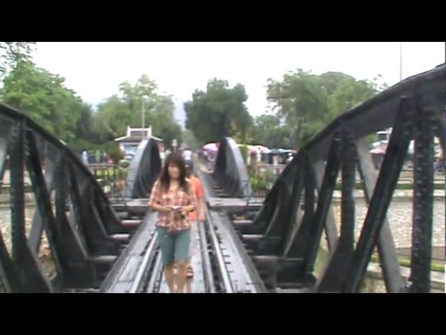 Crossing Bridge on River Kwai.MPG