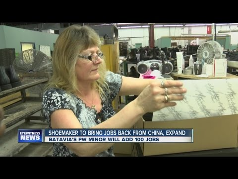 Shoemaker to bring jobs back from China, Expand