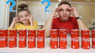 NU alege COCA-COLA in SLIME CHALLENGE | Don't CHOOSE Coca-Cola in SLIME Challenge