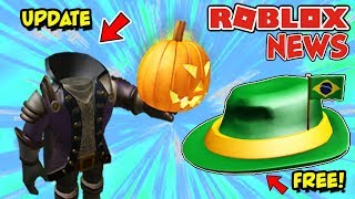 ROBLOX NEWS: Headless Horseman 2019 Release Date & FREE International Fedora