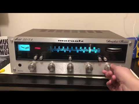 Marantz 2215b: How To Clean Potentiometers and Install New