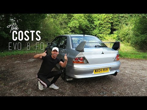 My Evo 8 FQ (The Costs, How I Got It and Why)