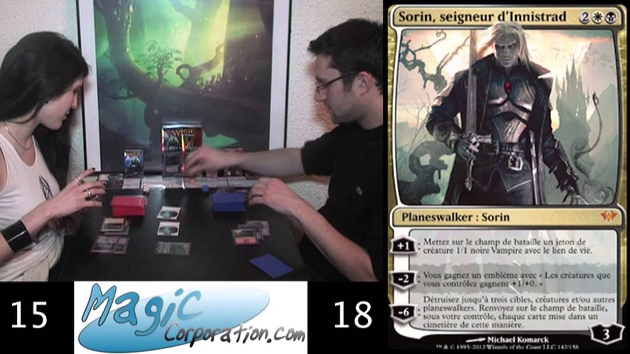 Cartes Magic The Gathering 2013 Duel Decks Sorin Vs Tibalt Open The Box Youtube