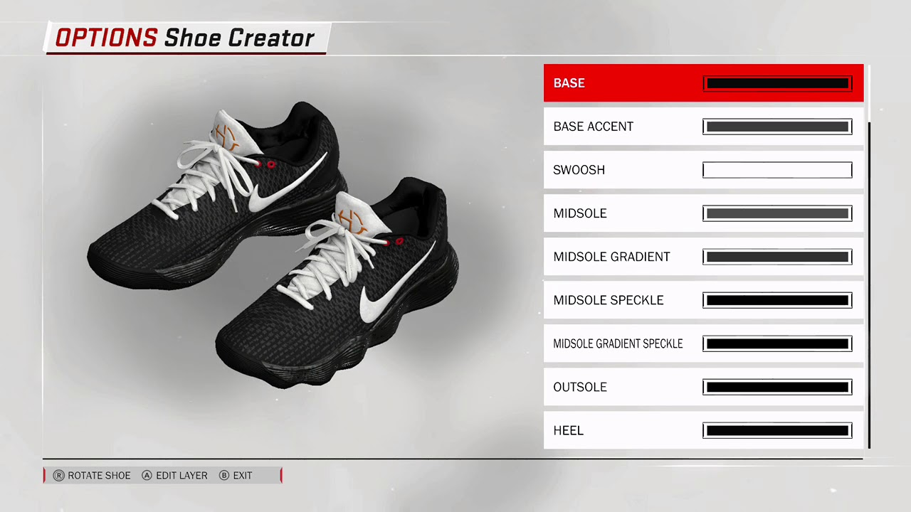 NBA 2K18 - How to Make NIKE VaporMax (Improved) (Off White Coulorway)