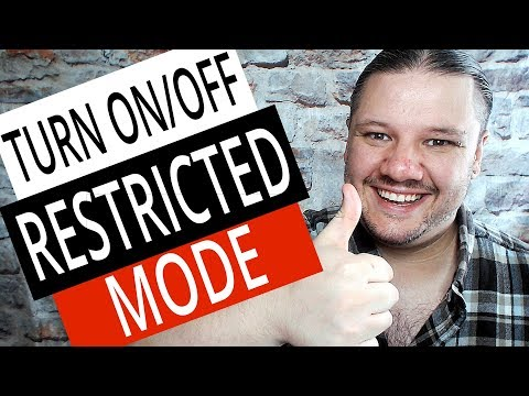 How To Turn On / Off Restricted Mode In NEW YouTube Studio 2019