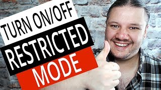 How To Turn On / Off Restricted Mode in NEW YouTube Studio [NEW METHOD]