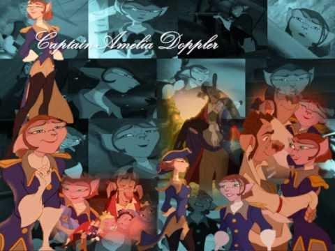 captain amelia and drdoppler a treasure planet music
