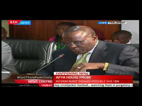 Cleophas Mailu gives these details on the 5 billion shillings lost from the Afya House scandal