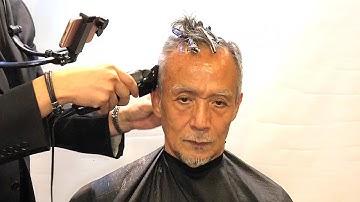 67세 남성의 꽃중년 도전기  /Transformation of a 67-year-old man [킹스턴맨즈헤어]