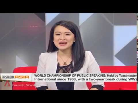 Darren Tay World Champion of Public Speaking Channel NewsAsia First Look Asia Interview
