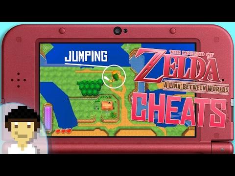 The Legend of Zelda: A Link Between Worlds NTR Cheat Plugin Showcase! | TCPixel