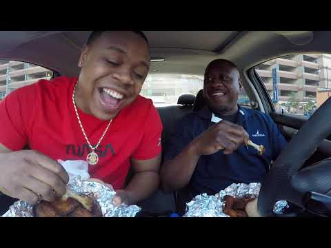 The Best Wings Are From Sweet Water Wings Down Town Detroit | MAM Eating Show