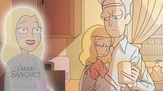 Семья Рика Умная! Бет Смит гениальна | Теория из Мультсериал Рик и Морти