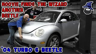 HOOVIE finds the CAR WIZARD an '04 Turbo S VW Beetle. It's sooo much better than the last one!
