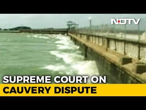 Supreme Court Pulls Up Centre For Ignoring Its Order On Cauvery Water Dispute