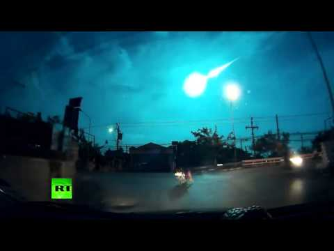 Shooting Star? Meteor lights up Thailand sky