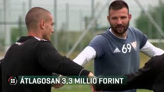Átlagosan 3,3 millió forintot keresett egy NBI-es focista 2020-01-20