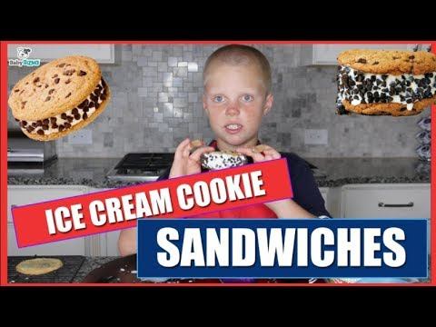 Easy Ice Cream Cookie Sandwiches  Baby Gizmo Recipe