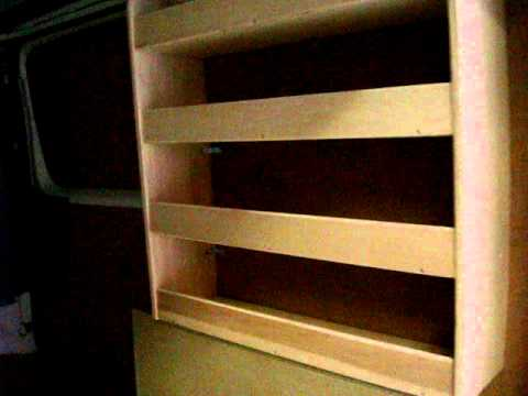 kit bois pour v hicule utilitaire youtube. Black Bedroom Furniture Sets. Home Design Ideas