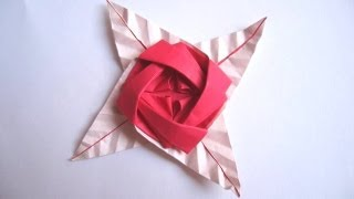 Origami 'rose Brooch' By Sy Chen