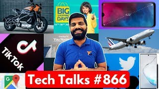 Tech Talks #866 - M40 Giveaway, OnePlus TV, TikTok Death, Realme 3i, EMUI 10, Twitter Updates