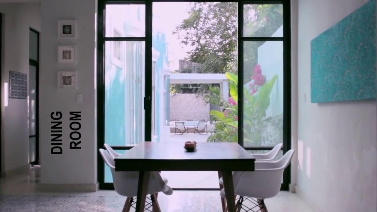 Villa Caribe - Modern Colonial House Merida Yucatan Mexico