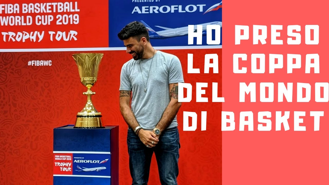 HO PRESO LA COPPA DEL MONDO DI BASKET || Gianluca Gazzoli Stories - YouTube