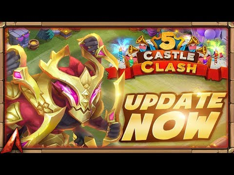 Castle Clash 5th Anniversary Giveaway Livestream!