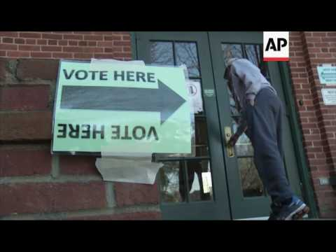 Raw: Voting Begins in SC Democratic Primary