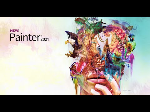 Painter 2021. Accelerate your art.