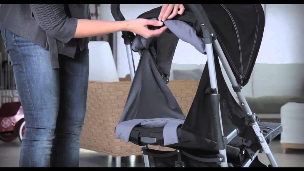 70c04307f Instructivo del cochecito para bebé Onyx by Cybex - YouTube