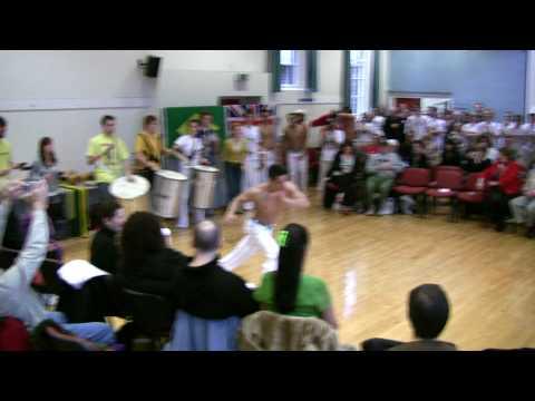 Capoeira York Batizado 2009 - Samba Band & Solos (HD)