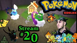 "POKEMON in Roblox Ch.#19, ""Luk3 CUPHEAD NAW"" 1st time playing PC(Max Graphics) #20th Stream"