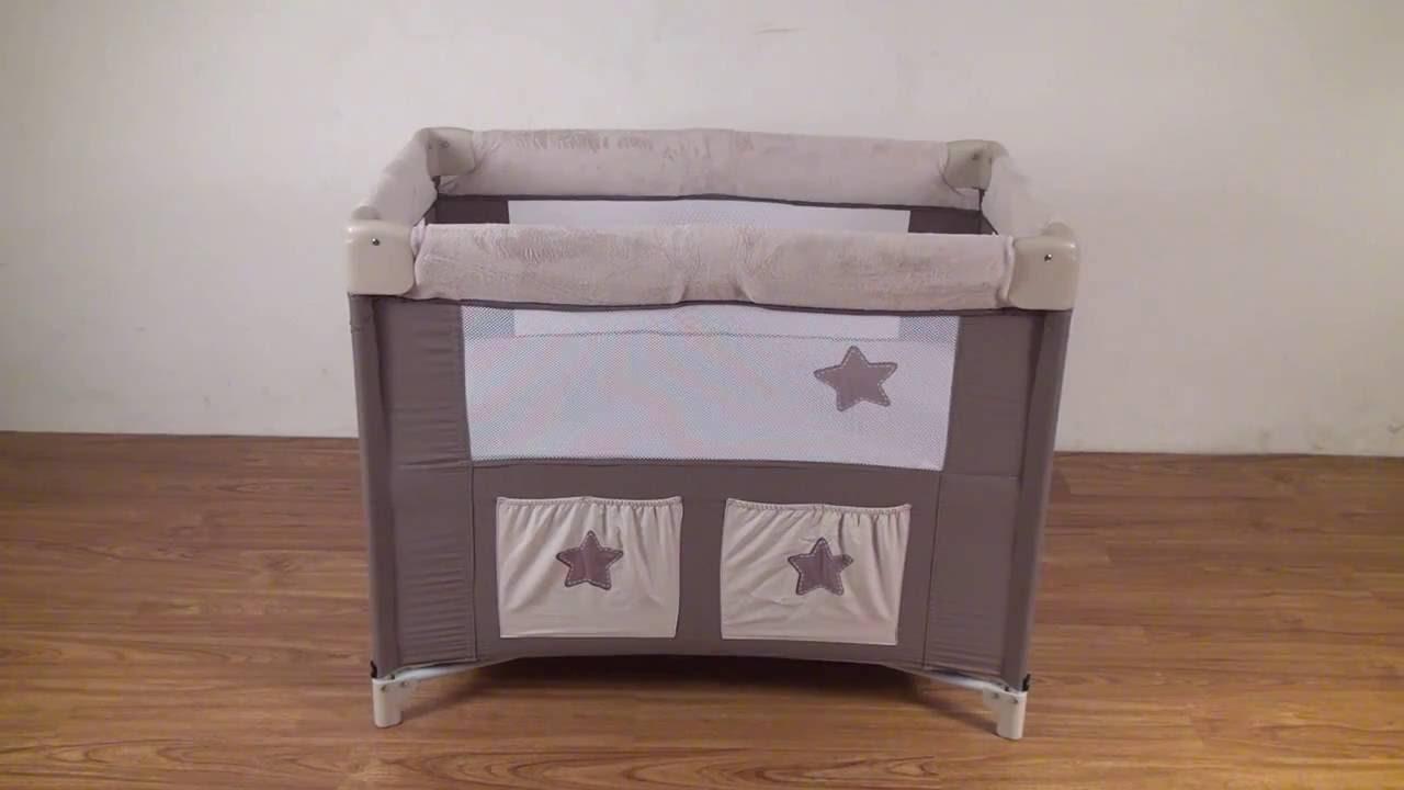 berceau lit pliant lune c line de looping youtube. Black Bedroom Furniture Sets. Home Design Ideas