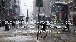 maantieto - suomen ilmasto