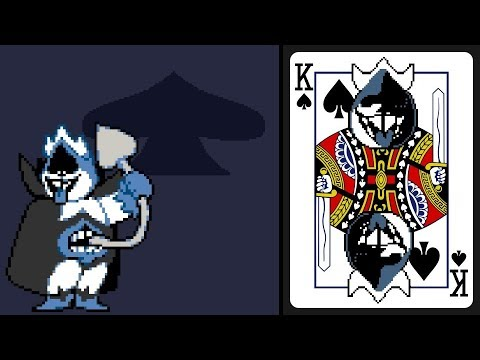 Deltarune No Hit Chaos King King Spades Youtube