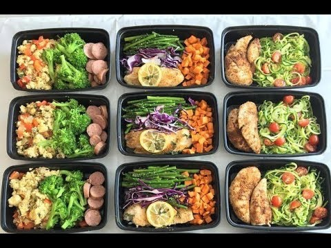 MEAL PREP IN UNDER AN HOUR!