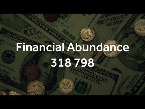 Grabovoi Numbers - Financial Abundance - 318 798