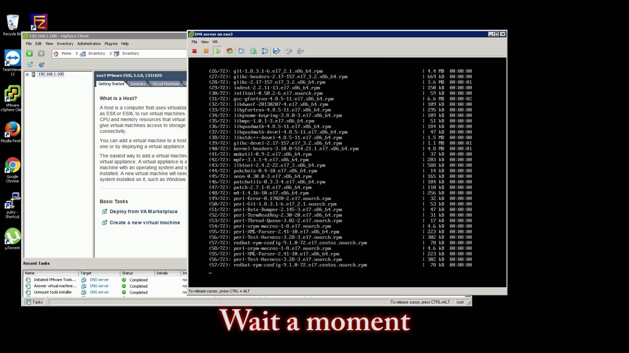 Easy install VMWare -Tools on Centos 7[Minimal ISO]