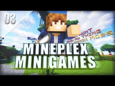 Mineplex Mini-Game Wednesday EP3 - Hackers and Secret Word!